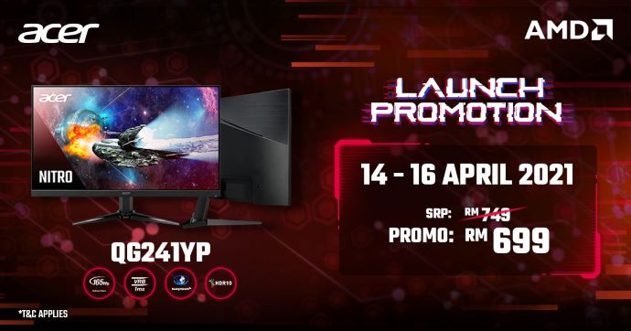Acer Nitro 5 AMD Launched With Nvidia RTX 3000 Series From RM3,699; Nitro QG1 Monitor Debuts For RM749 11