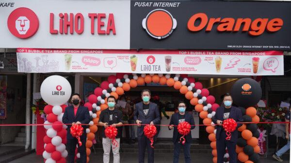 Orange Esports Cafe X Liho Tea Malaysia