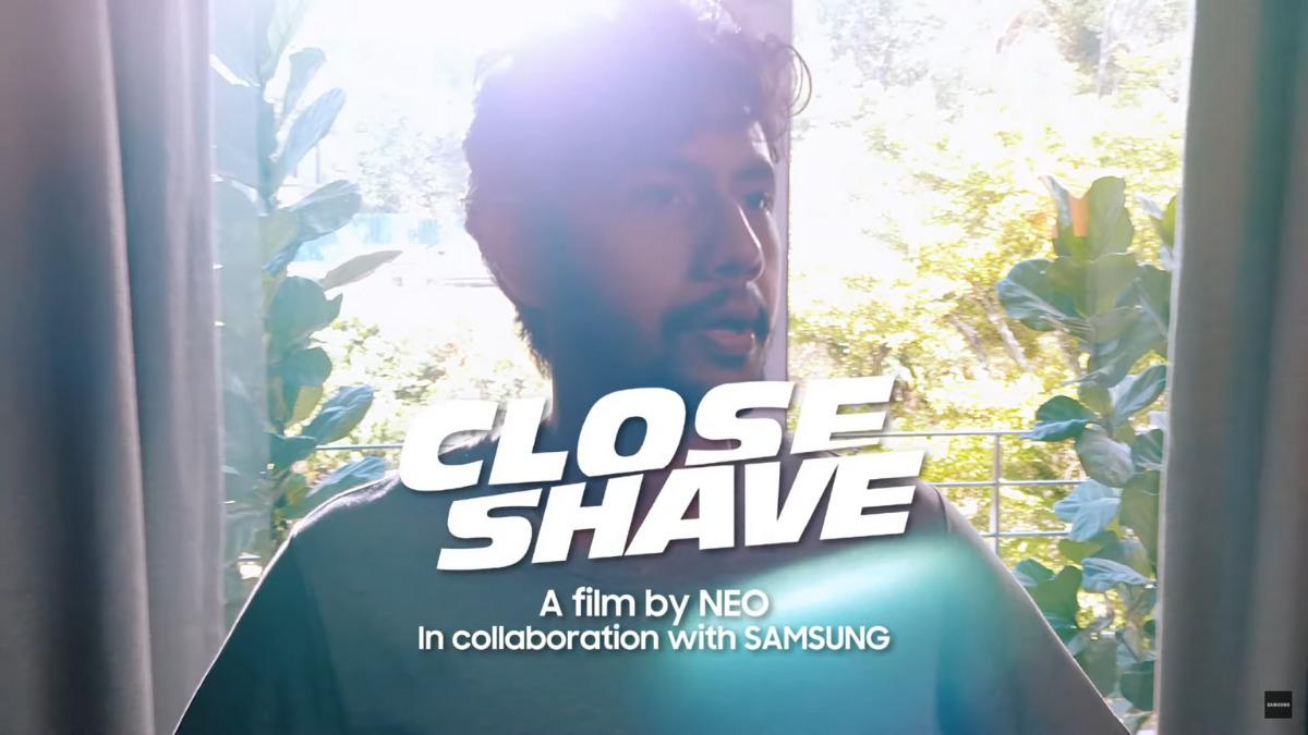 Samsung Galaxy Close Shave Short Film