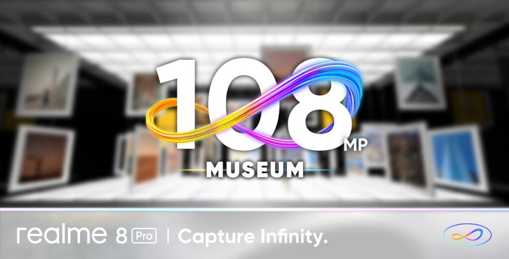 realme 8 Pro x 108MP Museum
