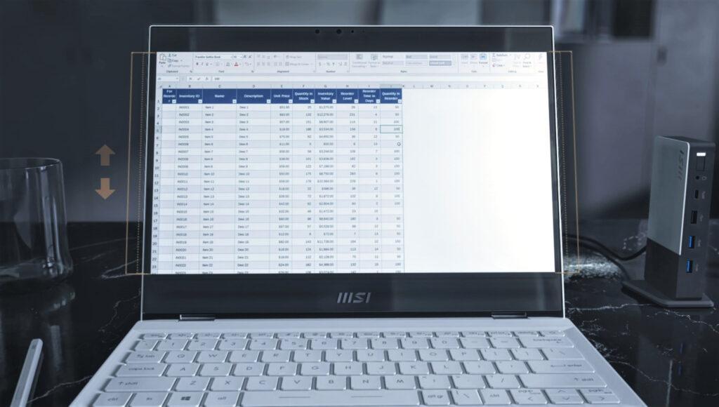 MSI Debuts New Summit Series 2-In-1 Laptops; Features Golden Ratio Design 23