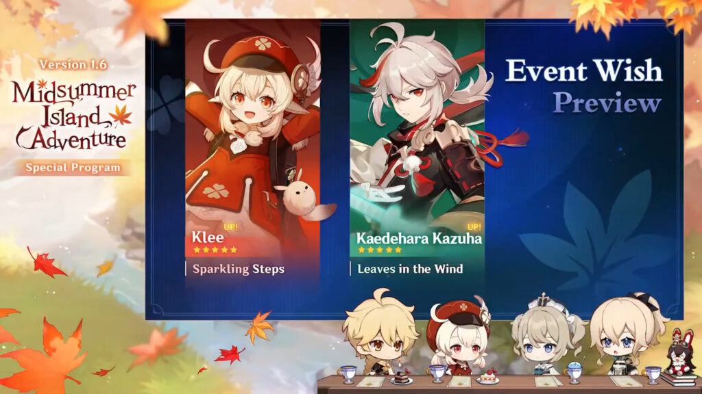 Genshin Impact 1.6 Update: Klee, Kazuha, New Skins, Maguu Kenki Boss, And More! 28