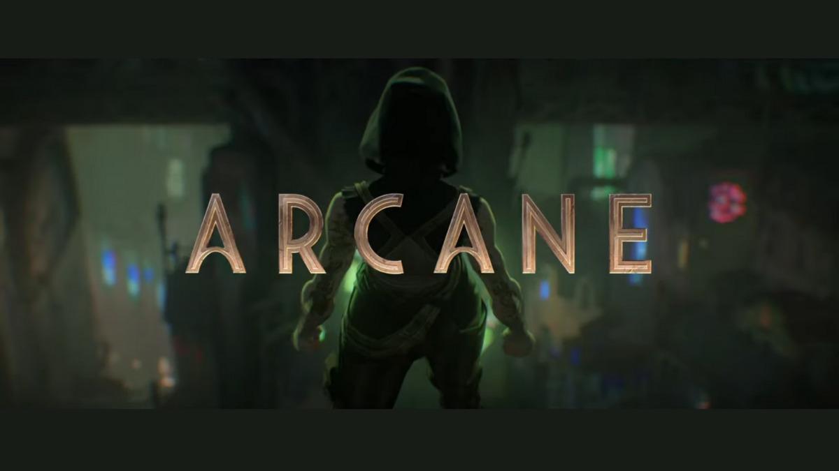League of Legends Netflix Arcane