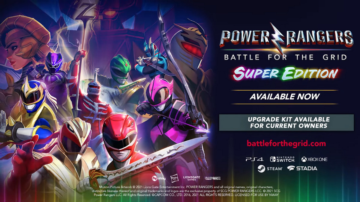 Power Rangers: Battle For The Grid - Super Edition