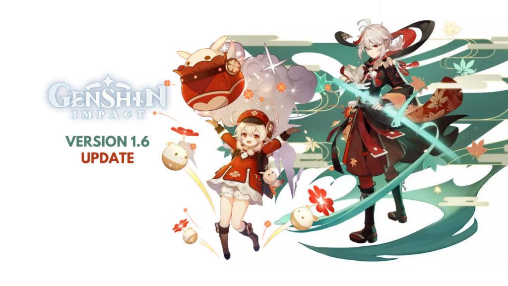 genshin impact 1.6 update upcoming banners