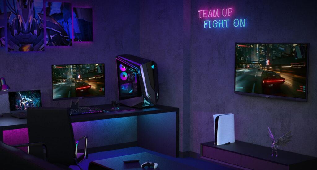 Gigabyte Aorus 4K Gaming Monitors