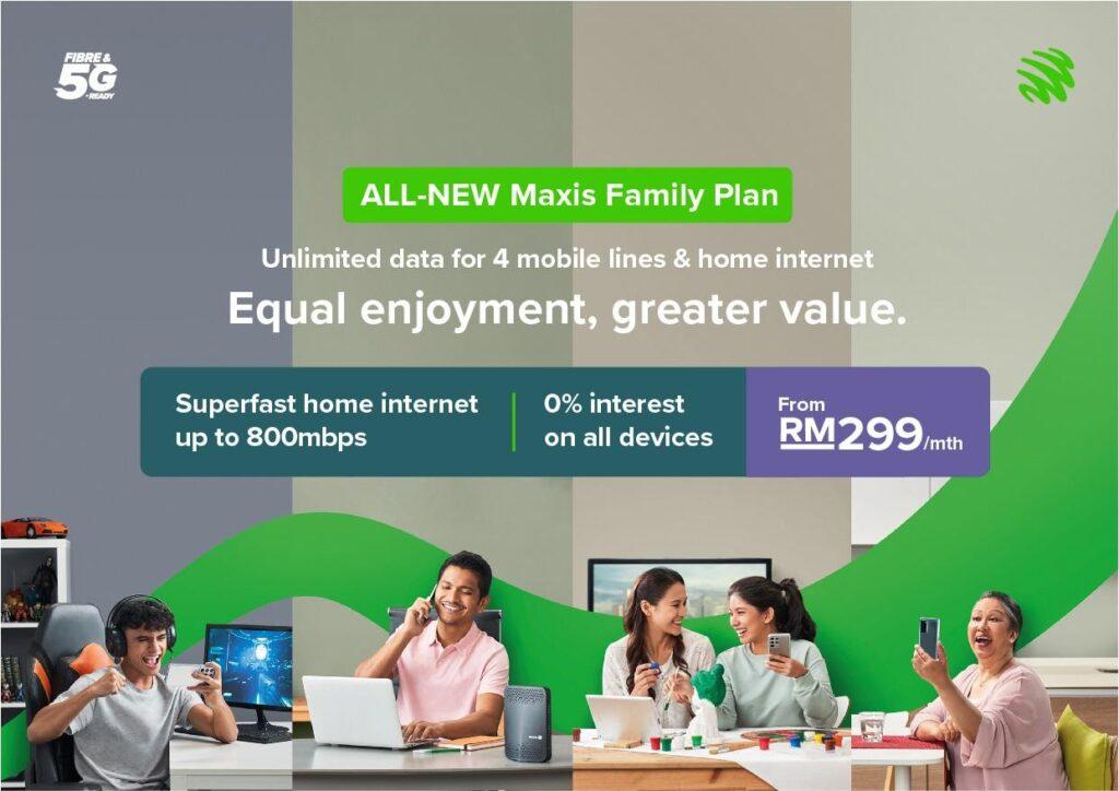 Maxis Family Plan