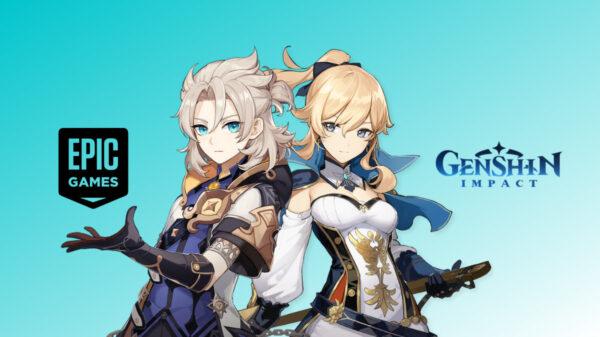 Genshin Impact x Epic Games