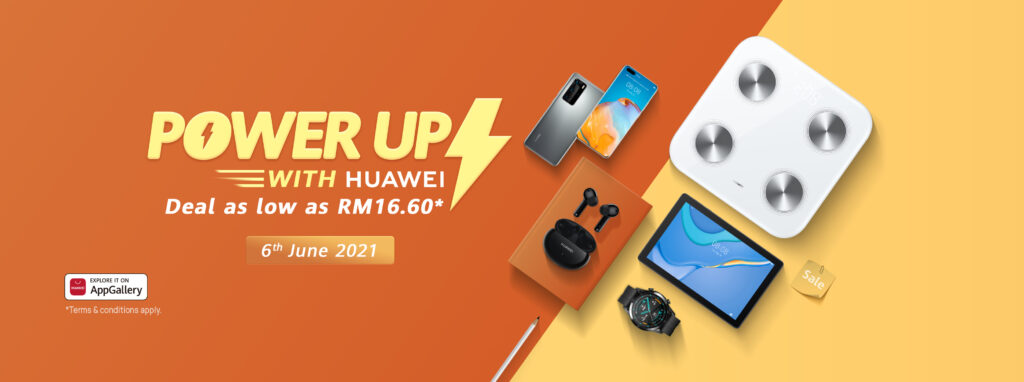 Huawei 6.6 Mid-Year Deals Introduces New Huawei Scale 3; Amazing Deals From As Low As RM16.60 19