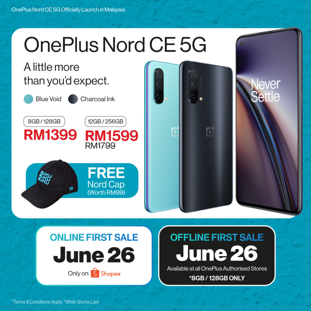 OnePlus Nord CE 5G Officially Launched In Malaysia; Priced From RM1,399 19