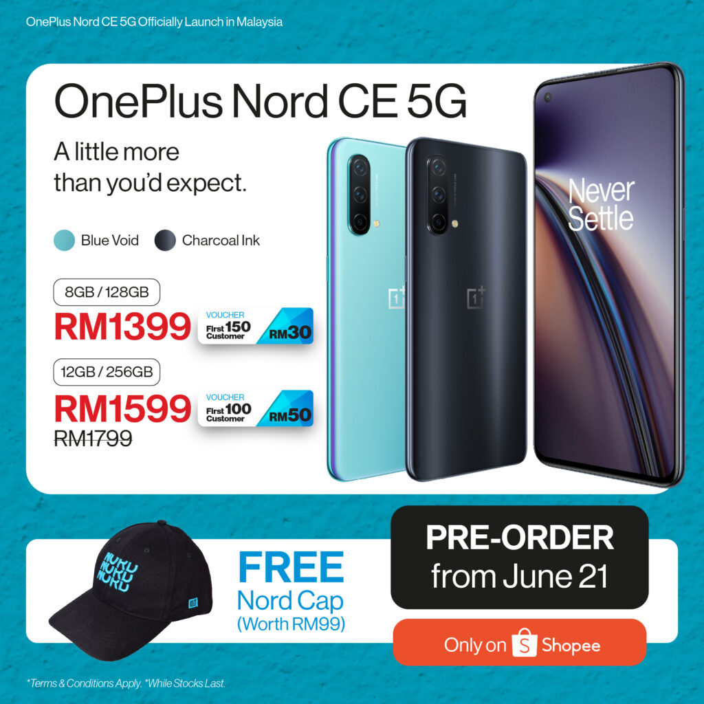 OnePlus Nord CE 5G Officially Launched In Malaysia; Priced From RM1,399 20