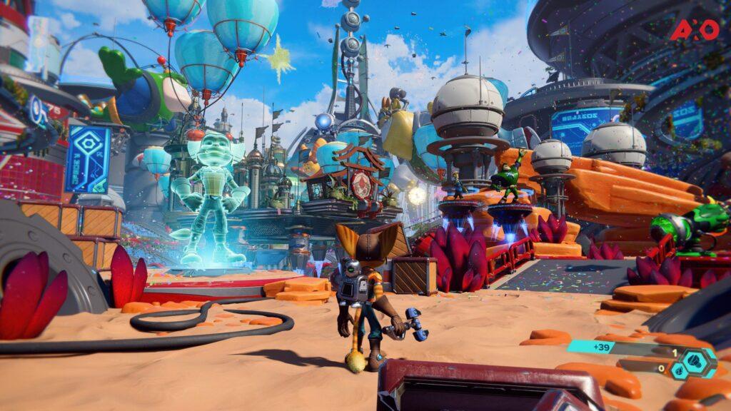 Ratchet and Clank: Rift Apart Gameplay Screenshot