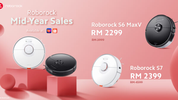 Roborock Mid-Year Sale Offers Up To 50% Discount From 4th To 6th June 2021 5