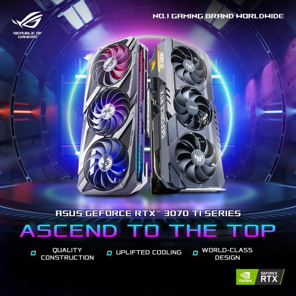 ASUS GeForce RTX 3080 Ti and GeForce RTX 3070 Ti Series GPU Announced From RM2,850 22