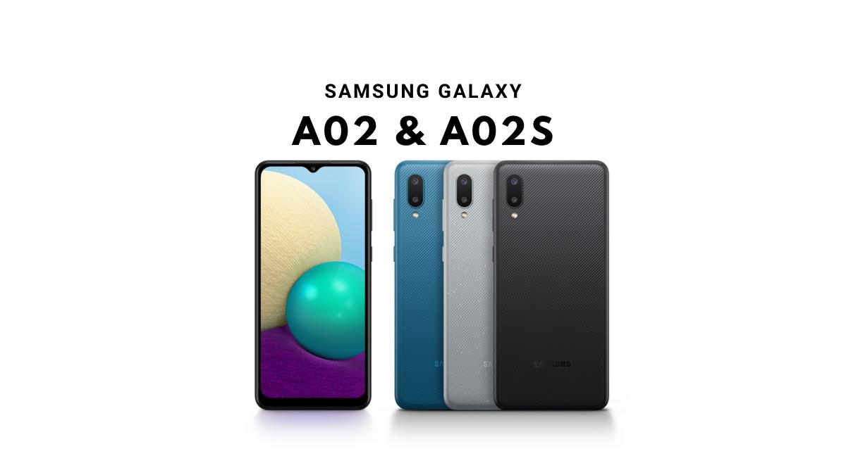 samsung galaxy A02 & A02s