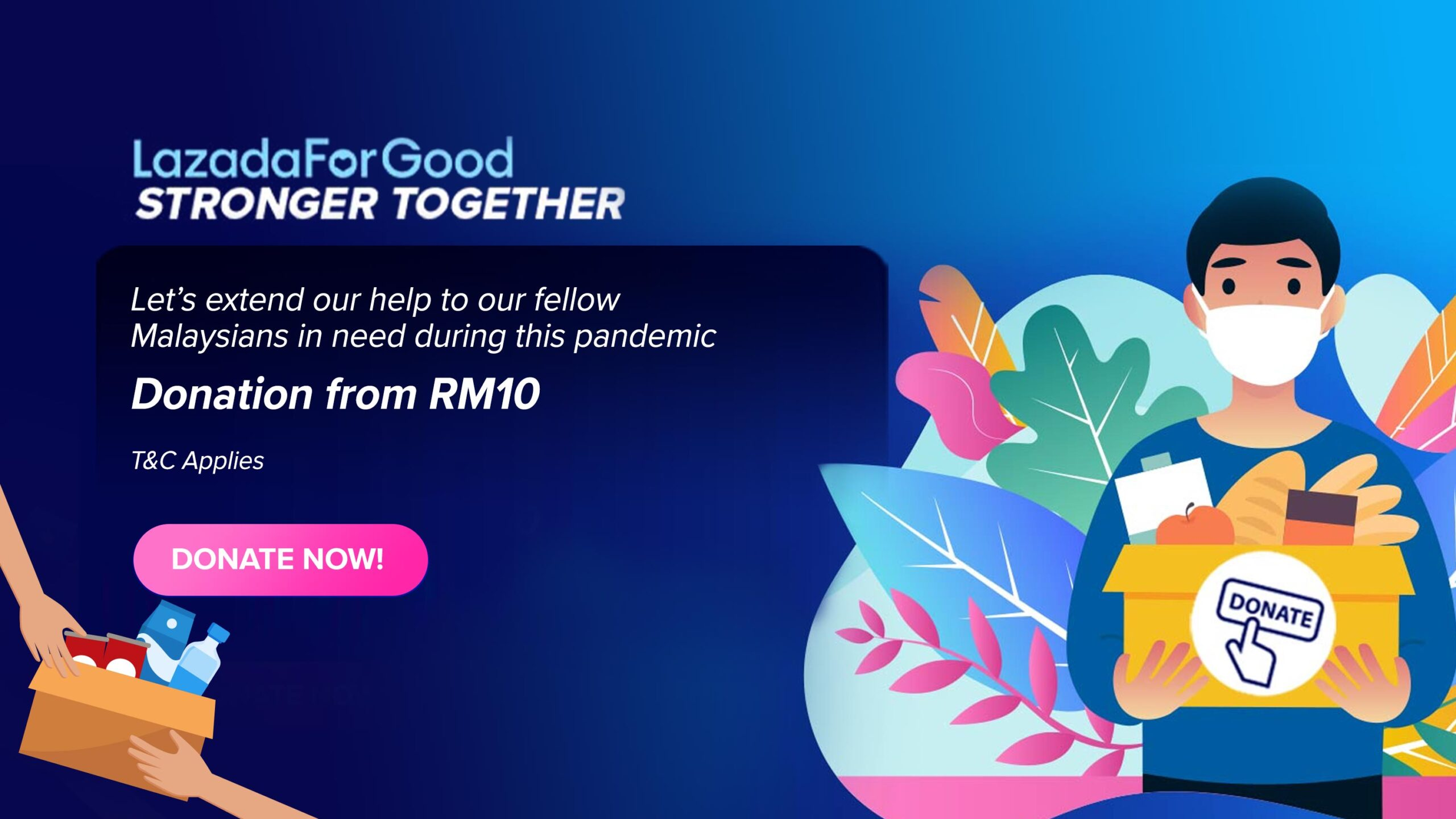 LazadaForGood: Lazada Steps Up Support for Frontliners and Malaysians In Need 23