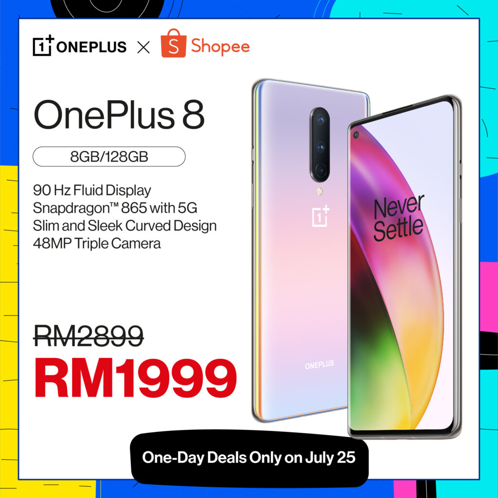 OnePlus Deals Shopee
