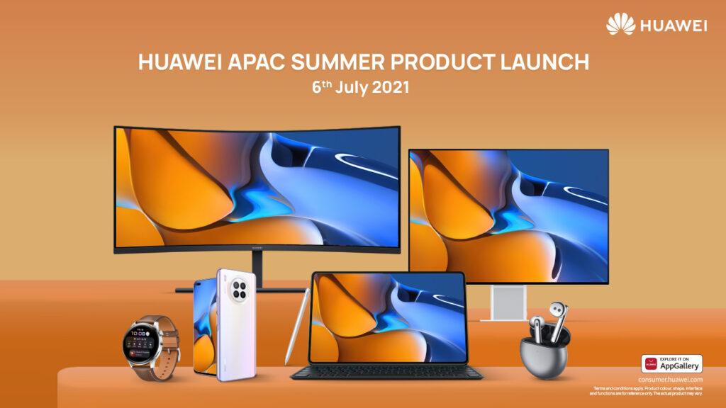 Huawei APAC Summer Product Launch