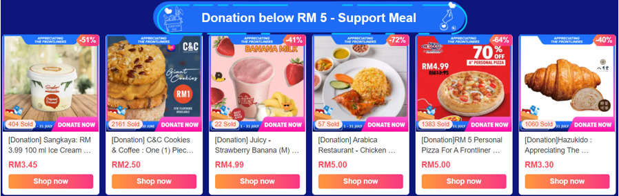 LazadaForGood: Lazada Steps Up Support for Frontliners and Malaysians In Need 26