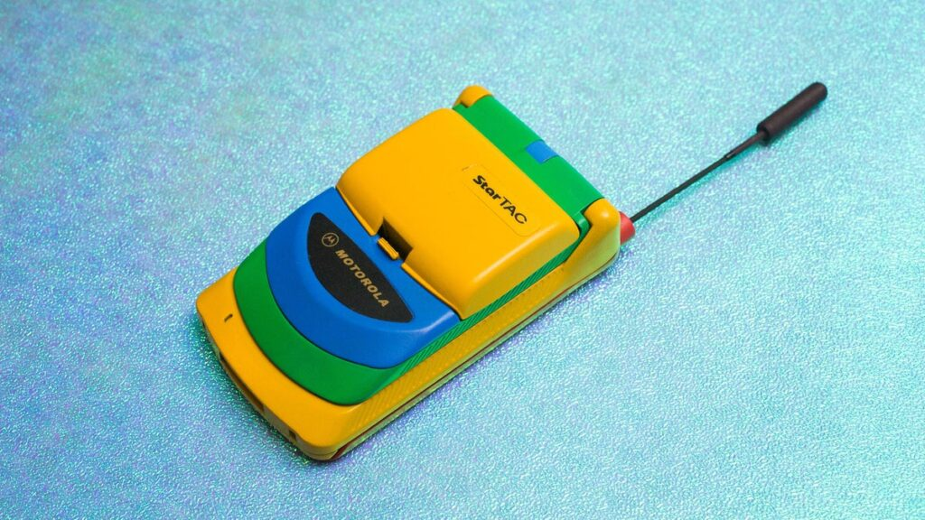 StarTAC flip phone.