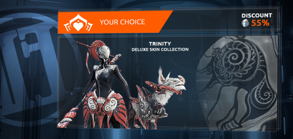 Free-to-play game Warframe's cosmetic microtransections
