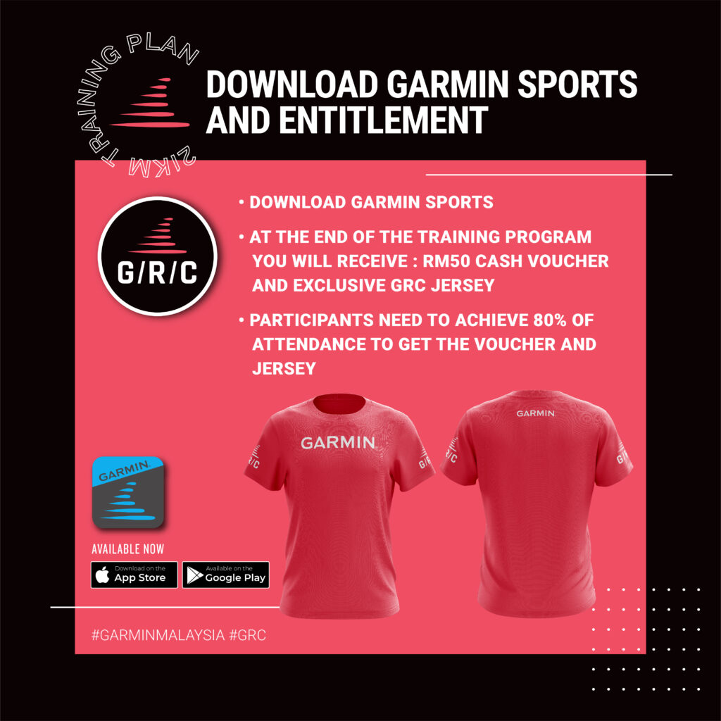 Garmin Run Club 21 KM Training Program