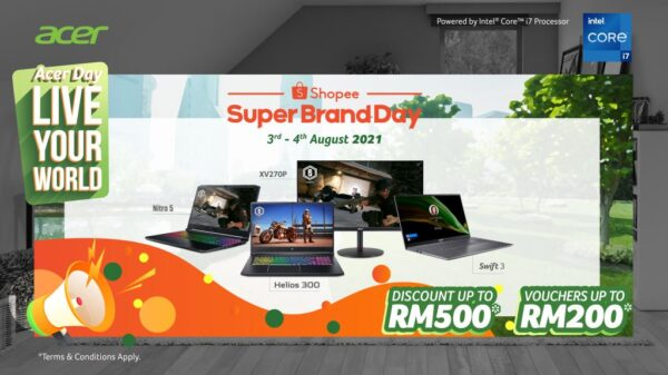 Acer Day 2021 is Here With Fabulous Promotions, Activities, And More Waiting for You From 3rd August Onwards! 14