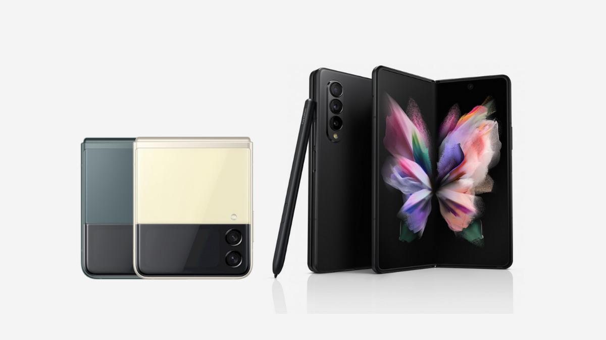 Samsung Galaxy Z Flip3 Z Fold3 5G