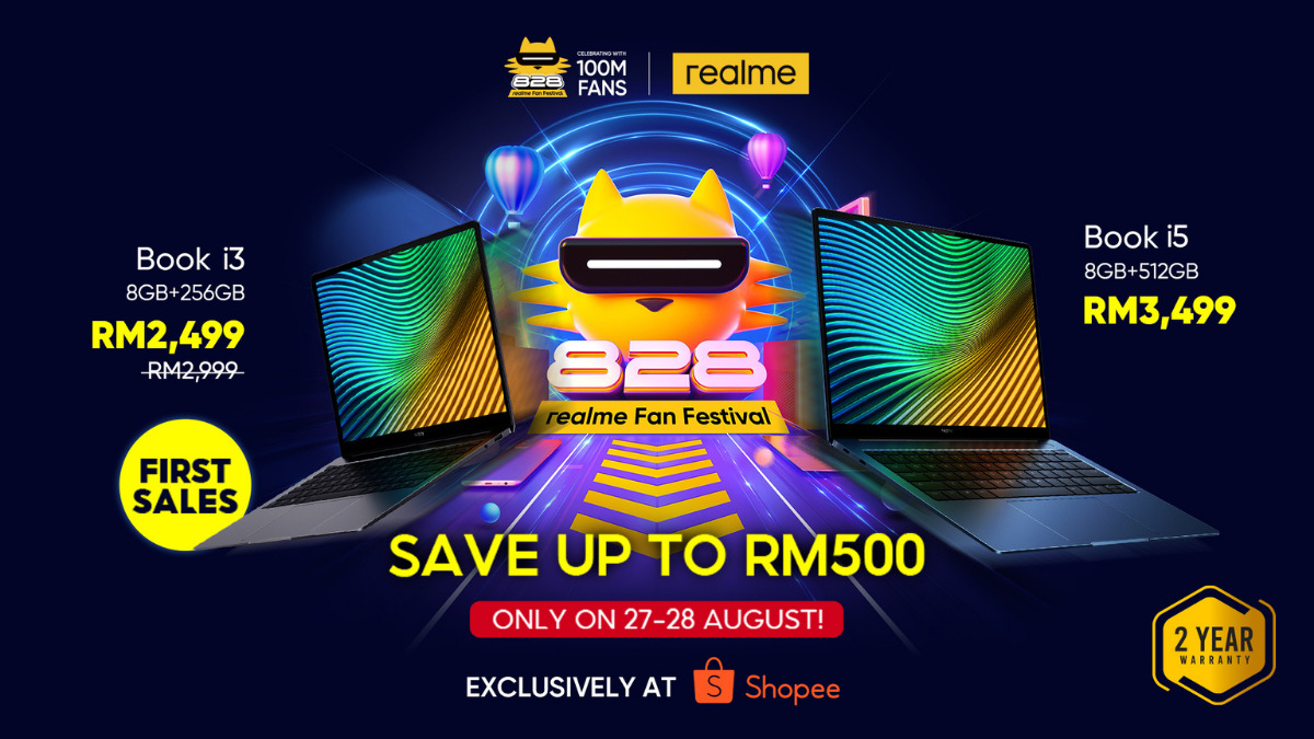 Realme Book arrives In Malaysia on The 27th of August, Starting from RM2,499 20