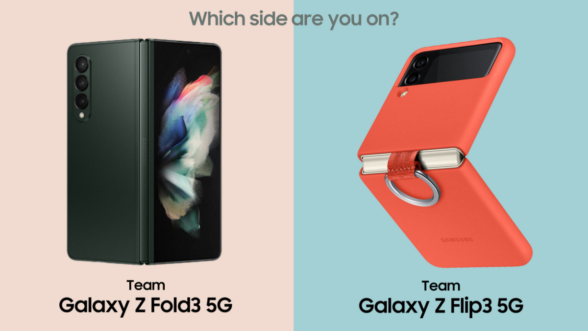 Team Galaxy Z Fold3 or Team Galaxy Z Flip3? Which suits you Better? 16