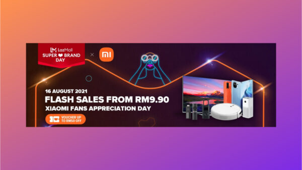Xiaomi LazMall Super Brand Day