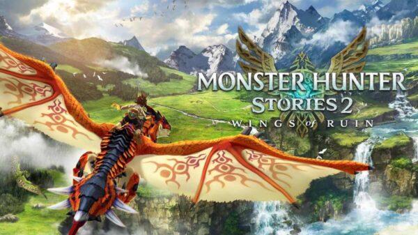 Monster Hunter Stories 2 Cover Art