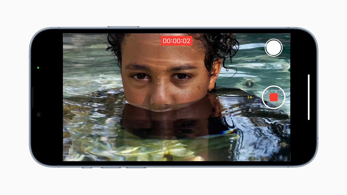 Video on iPhone Pro