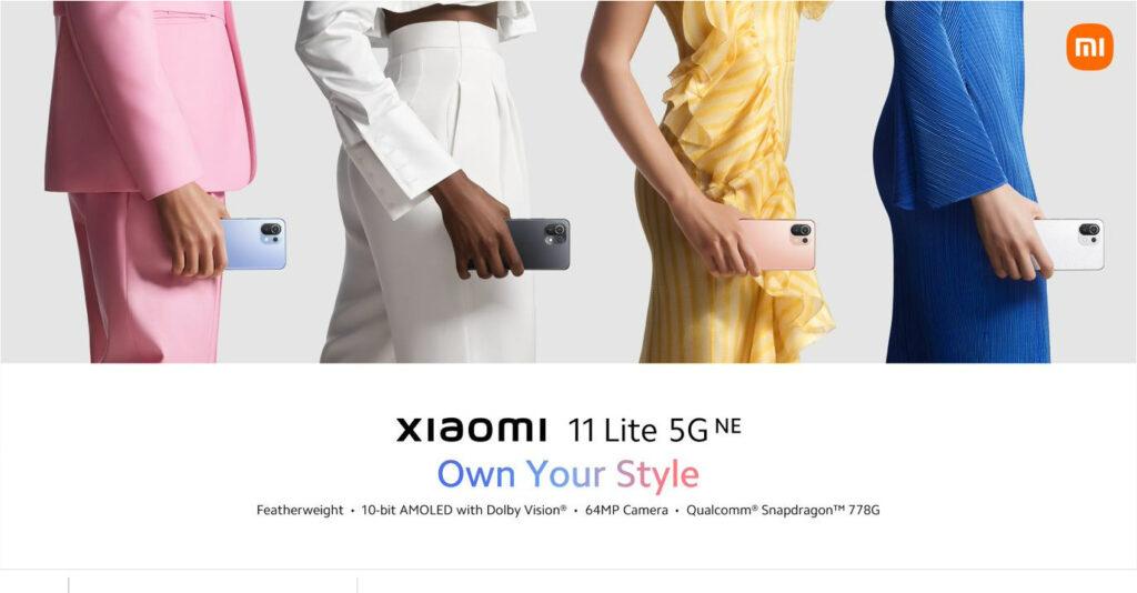 Xiaomi 11T  Xiaomi 11T Pro Xiaomi 11 Lite 5G NE