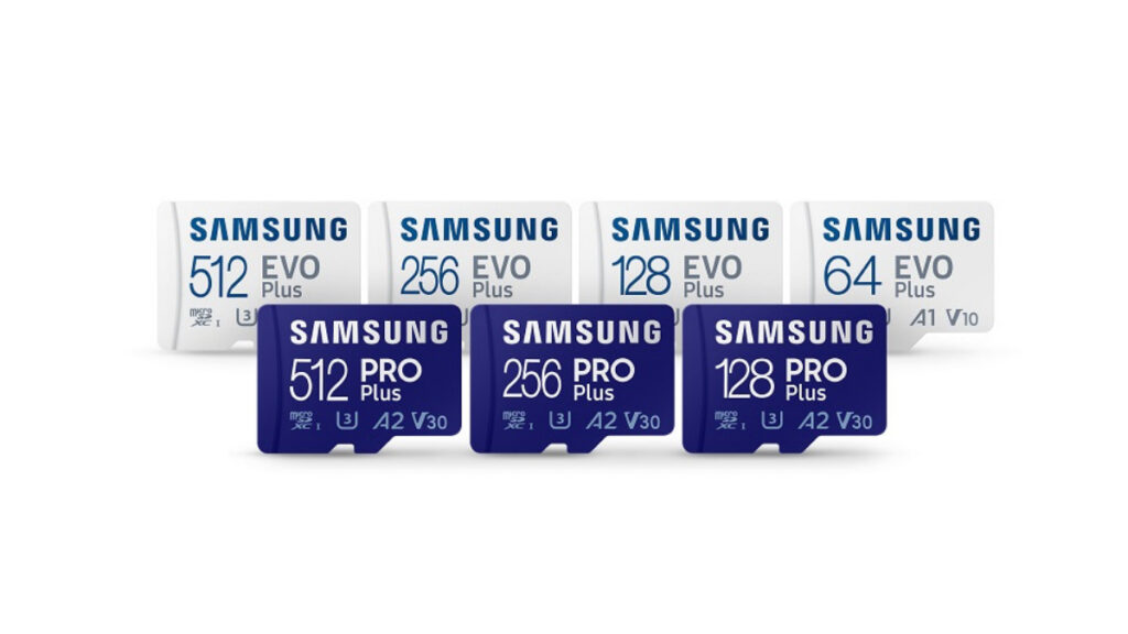 Samsung introduces PRO Plus and Enhanced EVO Plus MicroSD Cards With Up To 512GB Storage 15