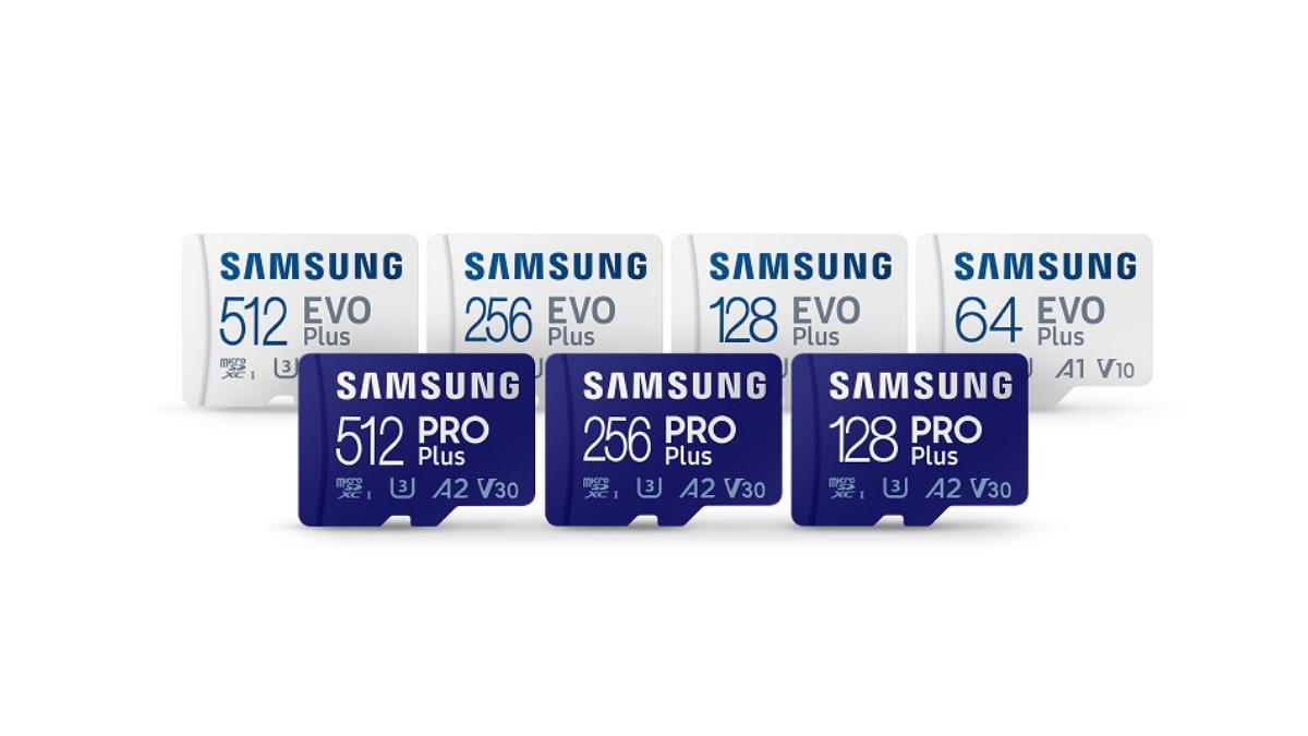 Samsung introduces PRO Plus and Enhanced EVO Plus MicroSD Cards With Up To 512GB Storage 16