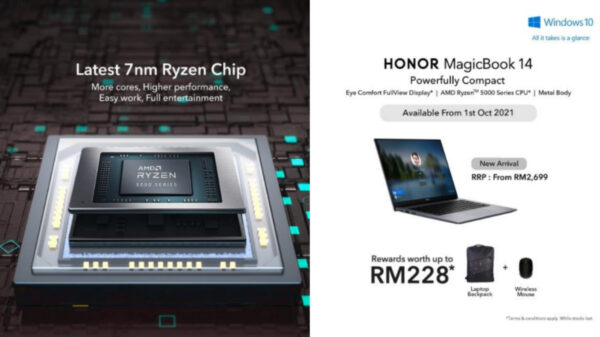 HONOR MagicBook 14 Is Launching This October 1; Starting From RM2,699 9