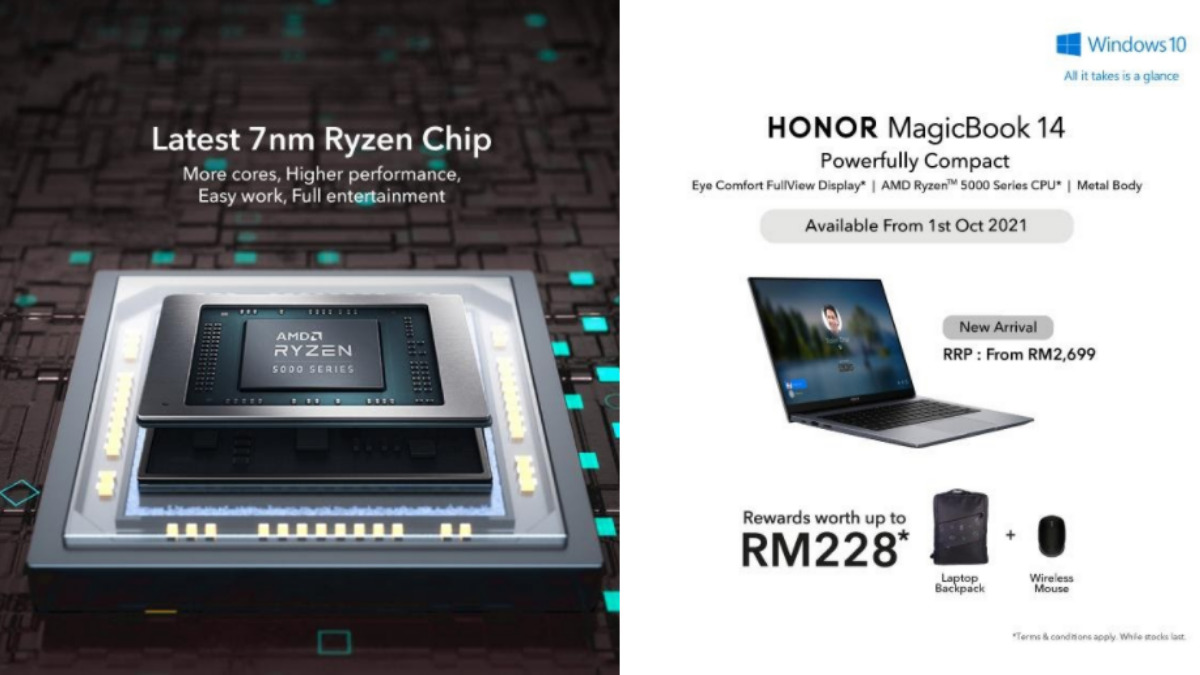 HONOR MagicBook 14 Is Launching This October 1; Starting From RM2,699 16