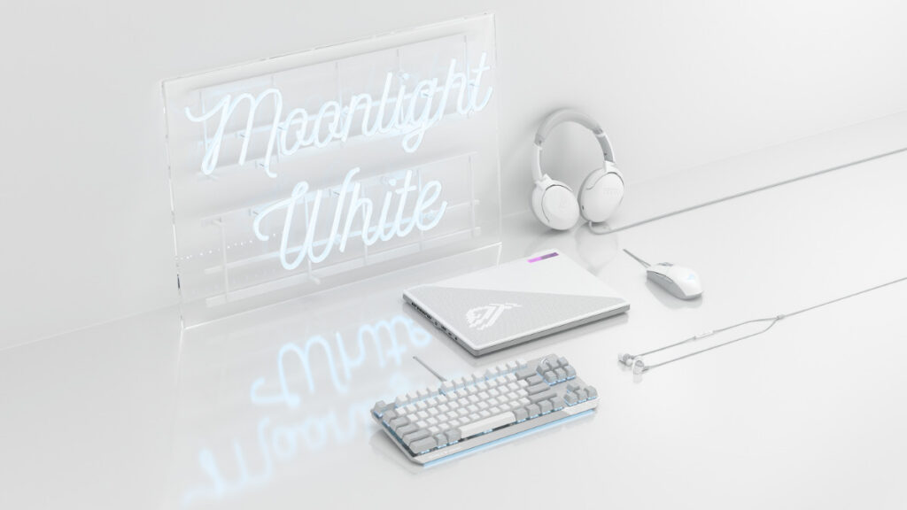 ASUS ROG Launches Moonlight White Gaming Peripherals 17