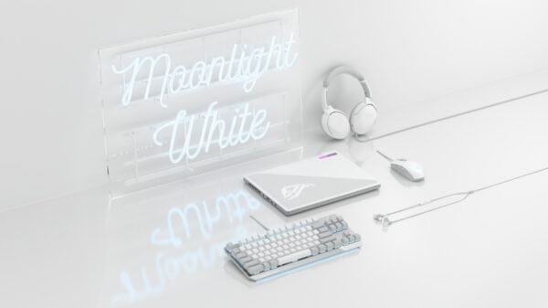 ASUS ROG Launches Moonlight White Gaming Peripherals 19