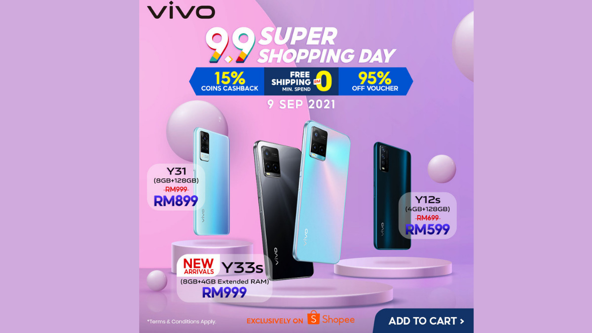 vivo x Shopee 9.9 Super Shopping Day Offers Up To 37% Discounts 21