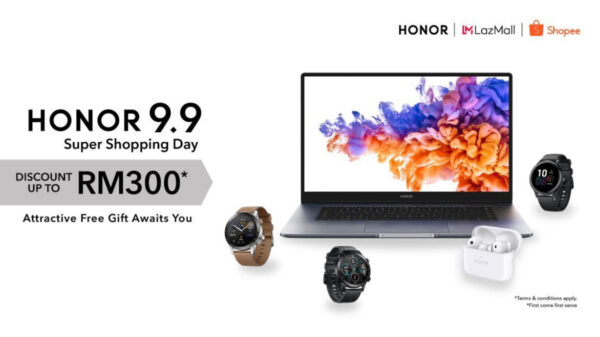 HONOR Malaysia Rewards Fans With Up To RM 300 Discounts And Free Gifts On 9.9 Super Shopping Day 11