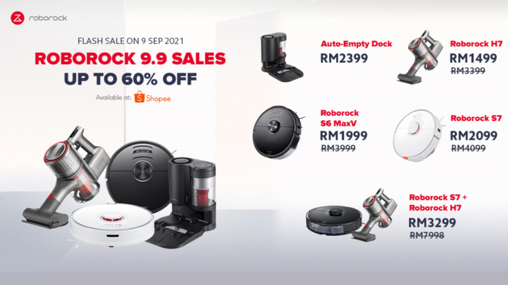 Roborock Offers Up To 60% Off On 9.9 Sale 16