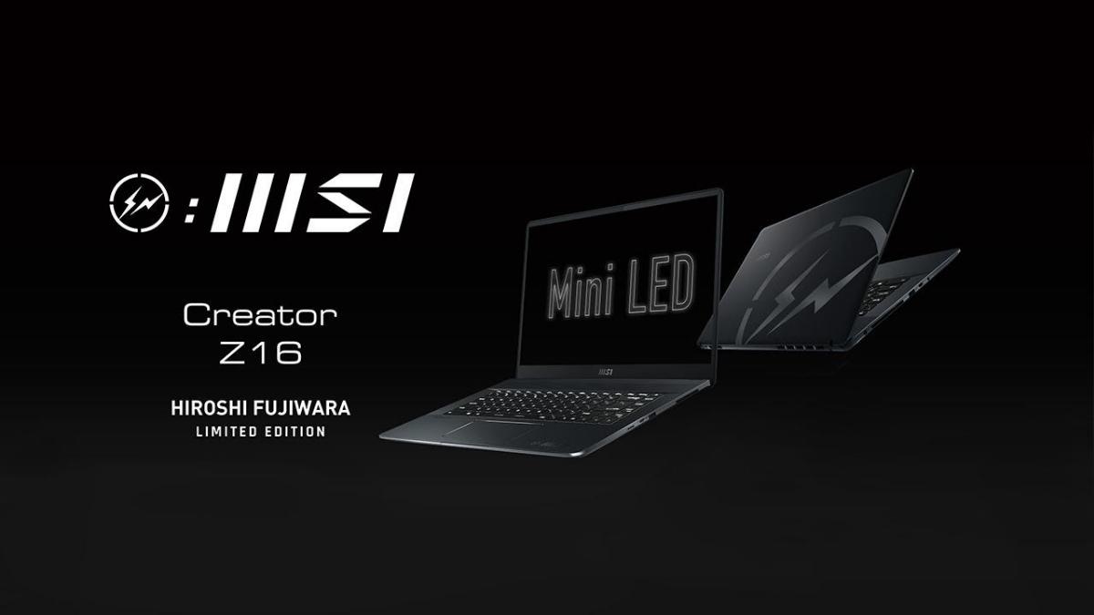 MSI Creator Z16 Hiroshi Fujiwara Limited Edition Is Coming 17