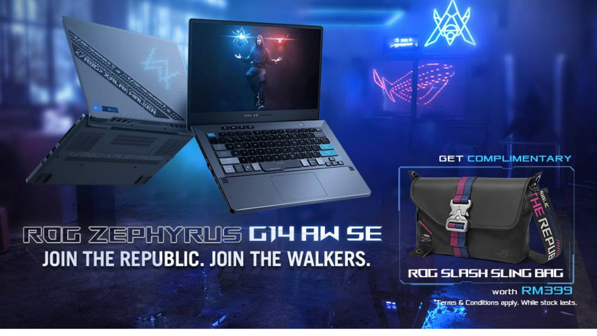 ROG Zephyrus G14 Alan Walker Special Edition Is Available In Malaysia; Priced At RM7,999 19