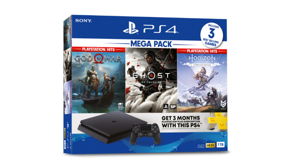 New PlayStation®4 MEGA PACK featuring Best-Selling; Available On 14th September 2021 16