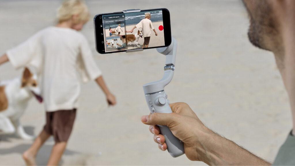 DJI OM 5 smartphone stabilizer