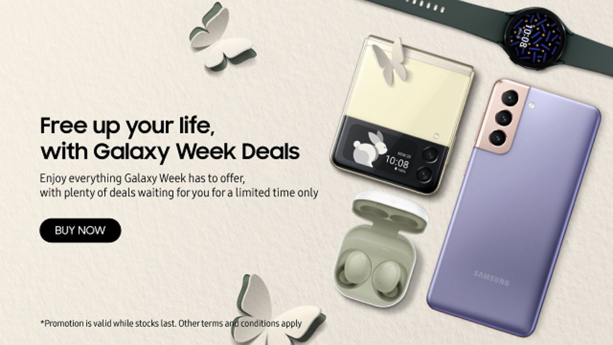 Galaxy Week Is Back With Up To 75% Discount! Starting From 20 September To 24 October 2021 14
