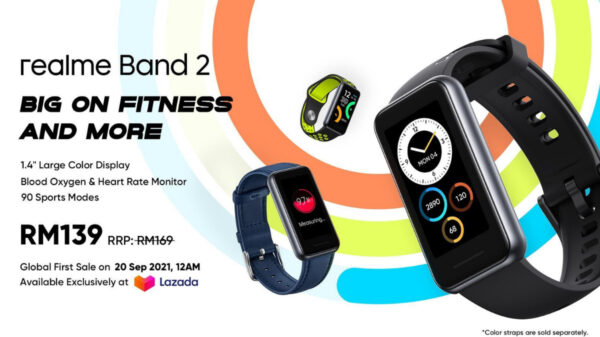 Realme Band 2 Made Its Global Debut In Malaysia On 20th September; Promotional Price At RM139 8