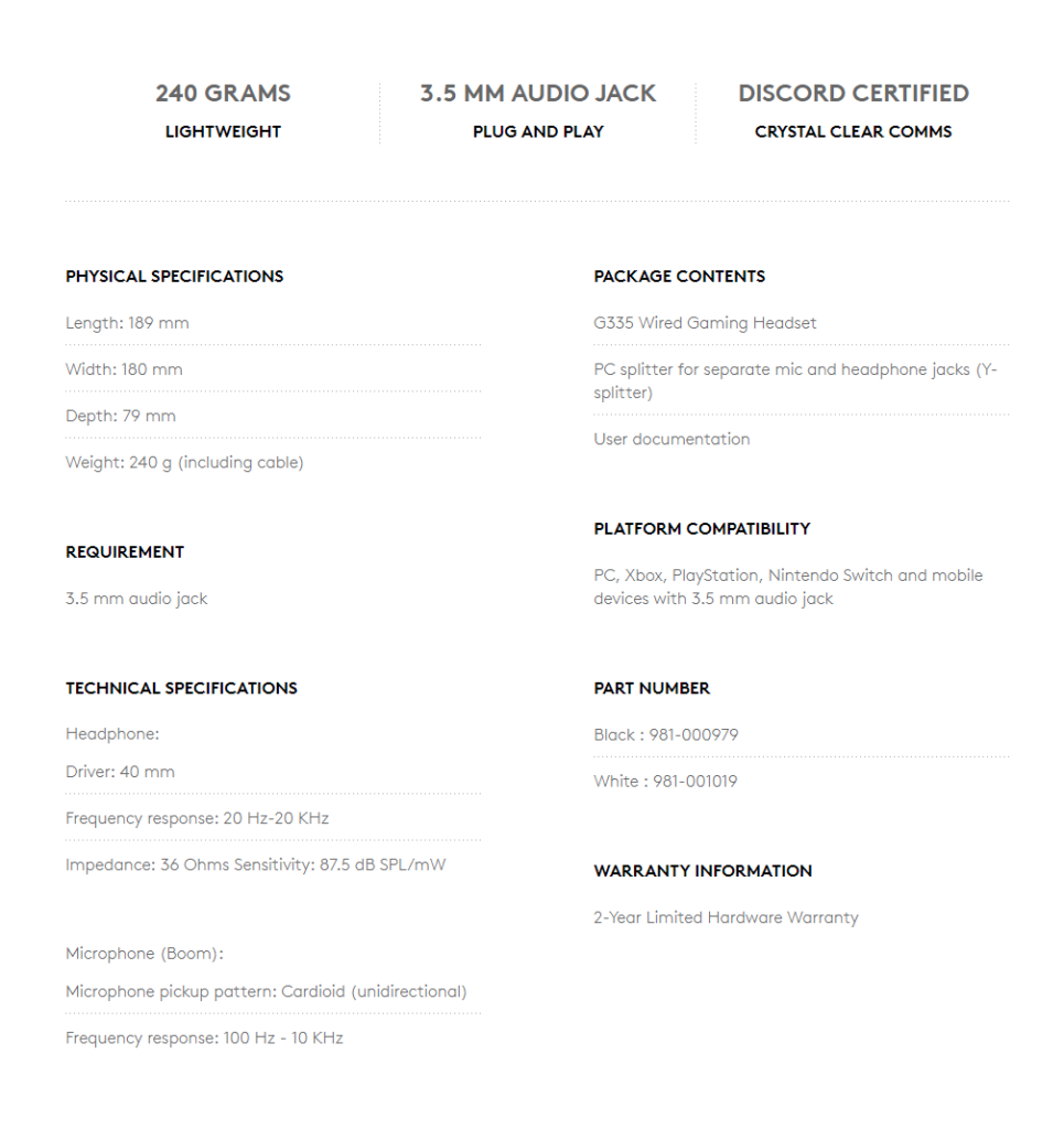 Logitech G335 Review: Minimal, Great Sounding Headphones 19